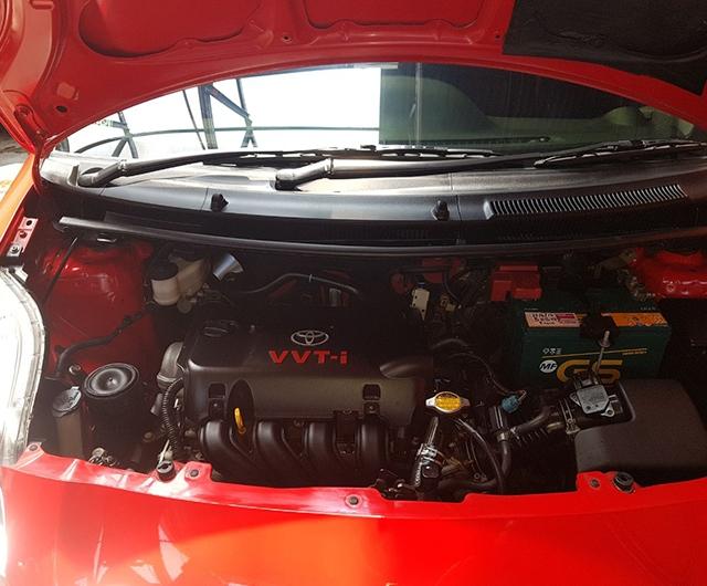 Hasil Engine Detail Mobil Yaris