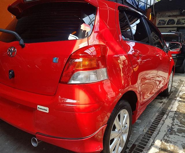 Hasil Sealen Purish Mobil Yaris