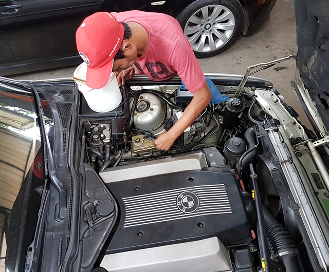 Proses Detail Mesin BMW E34