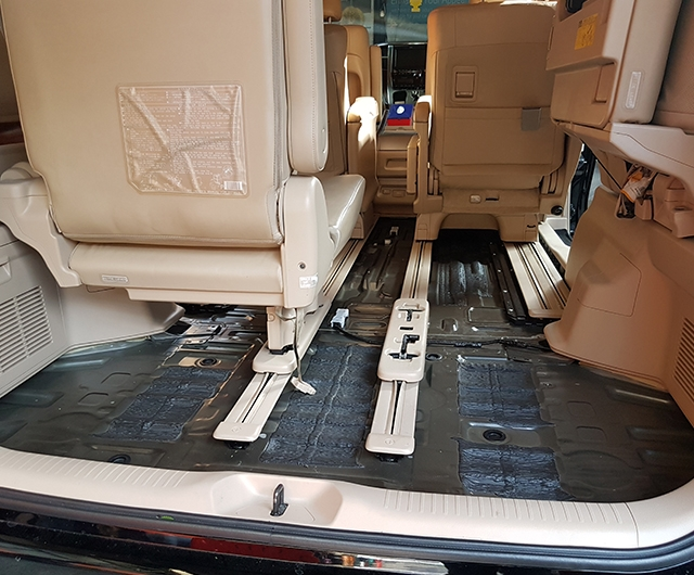 Proses Cuci Karpet Mobil Vellfire